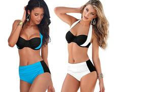 £12 instead of £79 (from Boni Caro) for a Spandex high-rise bikini in a choice of two colours - save 85%