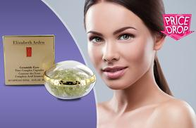 £10 instead of £34.91 for 60 Elizabeth Arden ceramide eye capsules from Deals Direct - see the world afresh and save 71%