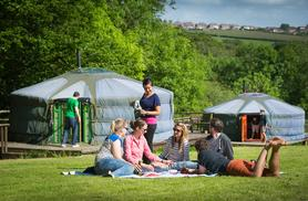 From £129 (from Cwm Tawel Yurts, Wales) for a four-night midweek yurt stay for up to five, or from £139 for a three-night weekend break - save up to 58%