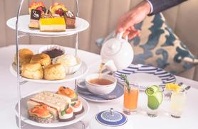 £29 instead of £70 for a Voltaire afternoon tea for two with three mini cocktails at the Voltaire Cocktails & Champagne Bar at 4* Crowne Plaza London-The City - save 59%