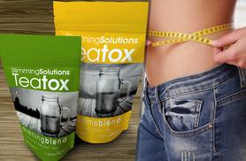 £8 (from Slimming Solutions) for a 14-day* supply of Teatox or £14 for a 28-day* supply - save up to 60%