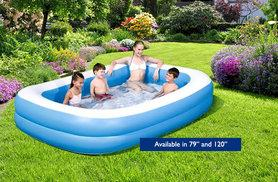 From £18 for a large family garden pool - make a splash this summer and save up to 67%
