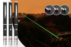 £4.99 instead of £19.99 (from EF Mall) for a laser light pen - choose red, violet or green and save 75%