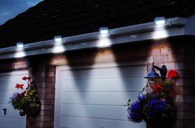 £8.99 instead of £29.99 (from Groundlevel.co.uk) for two solar gutter lights, £14.99 for four lights - choose white or black and save up to 70%