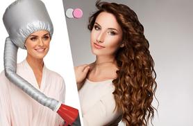 £8 instead of £39 (from Boni Caro) for a hands-free bonnet hair dryer - dry your hair in a flash and save 79%