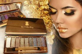 £8 instead of £49.98 (from Alvi's Fashion) for two nine-colour glitter eyeshadow palettes - enjoy 19 shimmering shades and save 84%