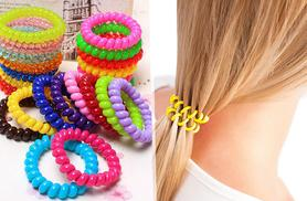 £3 instead of £9.99 for a pack of 20 anti-snag hair bobbles, choose from black or multicoloured - save 70%