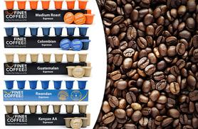 £6 instead of £12.10 (from Fine Coffee Club) for 50 Nespresso-compatible capsules in five fragrant flavours - save 50%