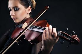 £34 instead of £68.20* for an online beginners' violin course from MusicGurus - save 50%