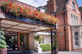 £99 for a romantic overnight stay for two with a two-course dinner, a bottle of house wine, a full English breakfast and late checkout at The St. Johns Hotel - save 40%