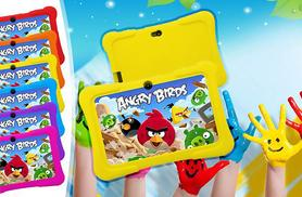 £29 instead of £129.99 (from D2D) for a kids' seven-inch dual-core touchscreen Android tablet and silicone case - choose from six colours and save 78%