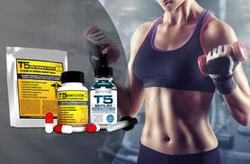 £21 instead of £49.18 for a one-month* supply of  T5 'Fat Burner' capsules, patches and serum - save 55%