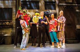 £15 instead of up to £35 for a band A ticket to see the multi-award-winning show Avenue Q at the Palace Theatre, Manchester - save 57%