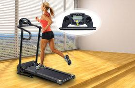 £129 instead of £499 (from Blue Unplugged) for an electric motorised folding treadmill - save 74%