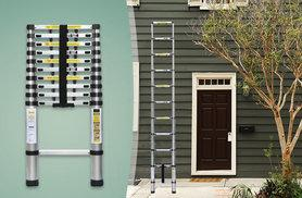 £49.99 instead of £141.99 (from Groundlevel.co.uk) for a 3.8 metre telescopic ladder - save 65%