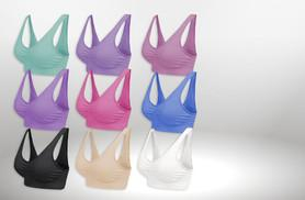 £6 instead of £29.97 for a pack of three seamless comfort bras - choose from three colour combinations and save 80%