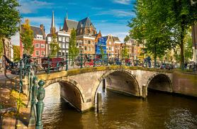 £69 instead of £109 for an Amsterdam day trip with return coach and cross-Channel ferry transfers from a choice of 10 locations - save 37%