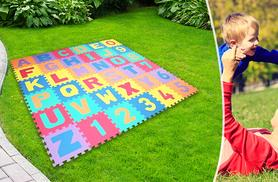 £6.99 instead of £28.99 for a 36-piece soft foam puzzle play mat - save 76%