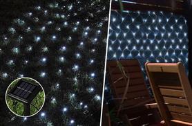£6.99 instead of £18.99 for a 105-bulb solar net light - save 63%