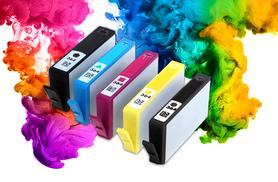 £7.99 instead of £49.99 (from TLD Marketing) for a pack of five HP compatible ink cartridges - make sure you're stocked up and save 84%
