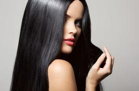 £39 instead of £120 for a Brazilian keratin blow dry treatment at Mint Hair Boutique, Beeston  - save a shiny 68%