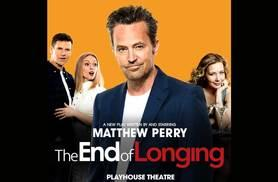 £24.75 for a Band B Mon-Thur ticket to see Matthew Perry's 'The End of Longing' at Playhouse Theatre, £30 for a Sat ticket with ATG Tickets - save up to 50%