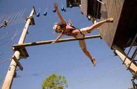 From £14 for a high ropes adventure experience with Aerial Extreme - pick from five locations and save up to 42%