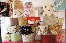 £29 instead of £149 for a two-hour lampshade making course for one, £49 for two at Midas Touch Crafts, Southwark - choose from two locations and save up to 81%