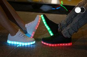 £19 instead of £78.99 for a pair of light up LED trainers - save 76%