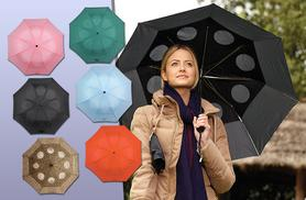 £6.99 (from Easylife) for a StayDry windproof umbrella - choose from six colours and save 61%