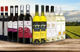 £39.99 instead of £93.61 (from San Jamón) for 12 bottles of Spanish red and white wine - save 57%