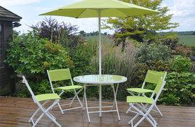 £89 instead of £120 for a six-piece garden dining set from Deals Direct - save 26%