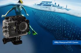 £17.99 instead of £67.99 (from Toy Meets World) for a 720p 'waterproof' HD action camera, £29.99 for a 1080p camera - snap and save up to 74%