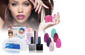 £49 (from 3 Week Nails) for a 12-piece home gel manicure starter kit including four polishes, £57 to include six polishes or £59 for eight polishes - save up to 79%