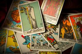 £4 for an email tarot card, angel or psychometric reading, £9 via phone/Skype or £19 for a face-to-face reading from Blessed Be, Pinner
