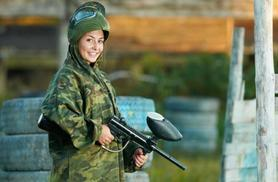 £5 instead of £49.95 for a paintballing day for five people, £9 for 10 people at Paintball Matrix - choose from over 40 locations and save up to 90%