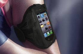 £3.99 instead of £9.99 (from EF Mall) for an iPhone sports armband in black - save 60%