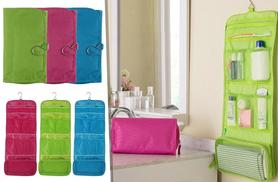 £4.99 instead of £24.99 (from Fakurma) for a hanging travel organiser - save 80%