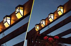£6.99 instead of £22 (from UK Home and Garden Store) for two solar fence lights, £12.99 for four lights - save up to 68%