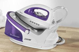 £39.99 instead of £99.95 (from Swan Products) for a 2200w steam generator iron - save a smooth 60%