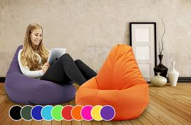 £24 instead of £89 (from UK Beanbags) for a highback beanbag - choose lime, black, blue, yellow, red, olive, orange, aqua, purple or pink and save 73%
