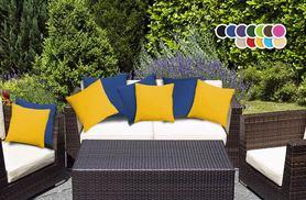 £14.99 instead of £33.98 for four waterproof garden scatter cushions - save 56%