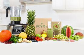 £9 instead of £24.50 (from Natural Blender) for your first week's Natural Blender smoothie subscription box - get ten smoothie servings, recipes and more and save 63%