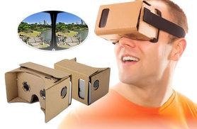£3.99 instead of £24.99 (from EF Mall) for a 3D virtual reality cardboard – save 84%