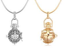 £7 instead of £58 (from Van Amstel Diamond) for a beautiful crown pendant necklace - save 88%