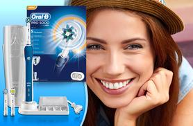 £64.99 instead of £180 (from My Perfume Room) for an Oral B Pro 5000 electric toothbrush- smile big and save 64%