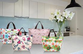£4.99 instead of £19.99 (from Fizzy Peach) for a stylish lunch cooler bag, or £8 for two bags - choose from four fab designs and save up to 75%