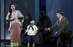 From £20.50 for an upper circle ticket to see Madam Butterfly, from £35.50 for a dress circle ticket at the London Coliseum with London Theatre Direct