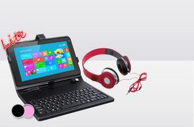 """£39.99 instead of £169 for a quad core 9"""" SmartPad Lite android tablet bundle, £41.99 to include headphones - save up to 76%"""
