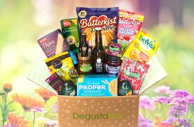 £3.99 instead of up to £10 (from Degustabox) for a one-month food hamper - try something new and save up to 60%